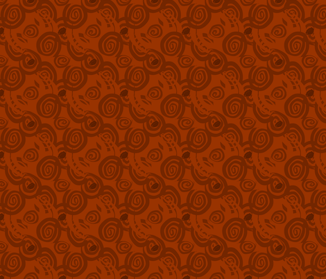 Dark Roast fabric by squishylicious on Spoonflower - custom fabric
