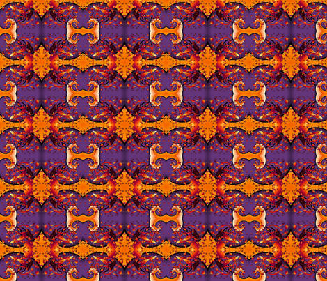 Happy_purple_orange_galaxy fabric by vinkeli on Spoonflower - custom fabric