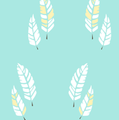 Quills (Turquoise)