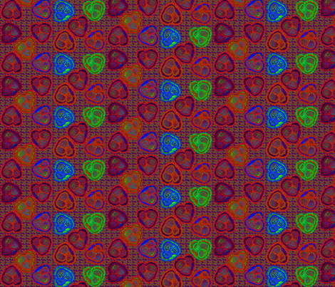 ©2011 savagehearts 2 fabric by glimmericks on Spoonflower - custom fabric