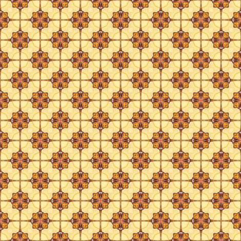 Hia's Screen fabric by siya on Spoonflower - custom fabric