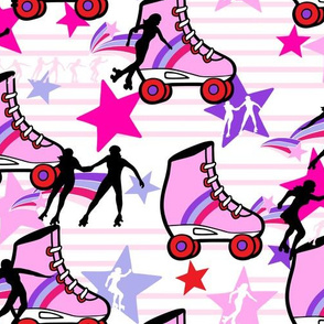bubble gum roller derby
