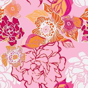 Jungle Pink Floral