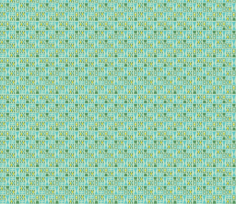 Leaflets - tiny print fabric by acbeilke on Spoonflower - custom fabric