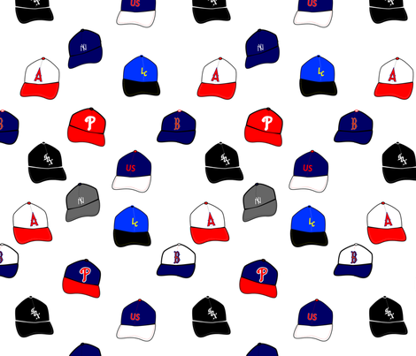 hats_ml fabric by j0nnblaze on Spoonflower - custom fabric