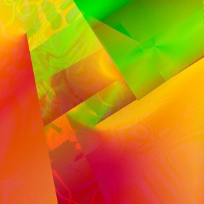 Orange Geometrics