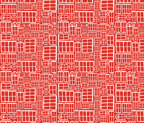 Red Windowpane