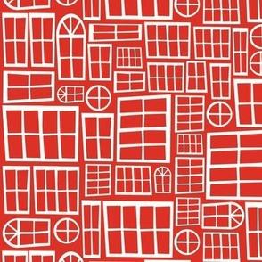 Red Windowpane