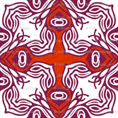 red ravenna_linen