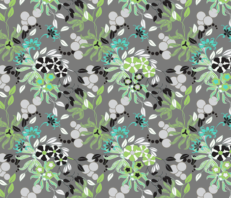 Exotic Smoke fabric by joanmclemore on Spoonflower - custom fabric