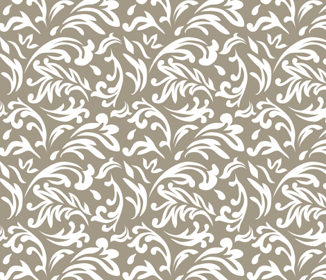 DeconstructedDamaskNeutralGreige fabric by nikkibutlerdesign on Spoonflower - custom fabric