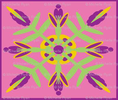 Hawaiian Quilt Test Pattern
