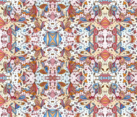 Summer fabric by poppydreamz on Spoonflower - custom fabric