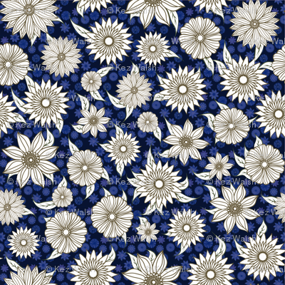 Natasha Blue Floral