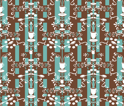 Classic Coffee fabric by leolietje on Spoonflower - custom fabric