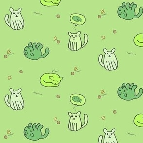 green kittehs