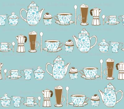 Coffee Culture plain background