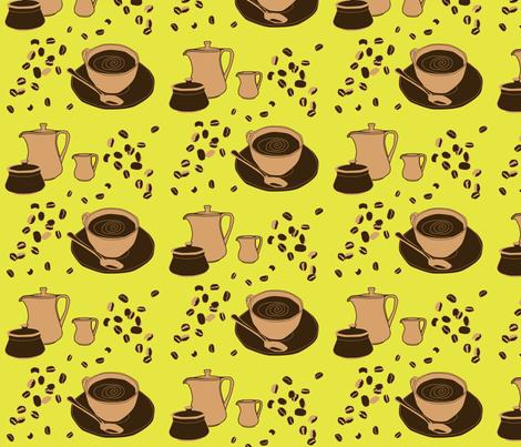 coffee_time fabric by celestine on Spoonflower - custom fabric