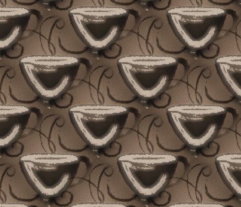 Morning_Coffee fabric by born2sew on Spoonflower - custom fabric