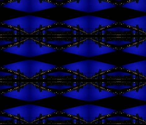 Night Bridge fabric by relative_of_otis on Spoonflower - custom fabric
