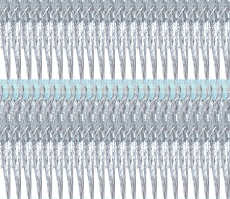 Icicles fabric by jelder on Spoonflower - custom fabric