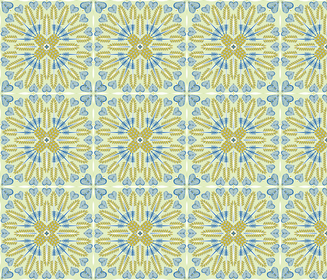 ©2011 PINEAPPLEALOHA small fabric by glimmericks on Spoonflower - custom fabric