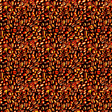 Pop Beans fabric by trafficjamas on Spoonflower - custom fabric