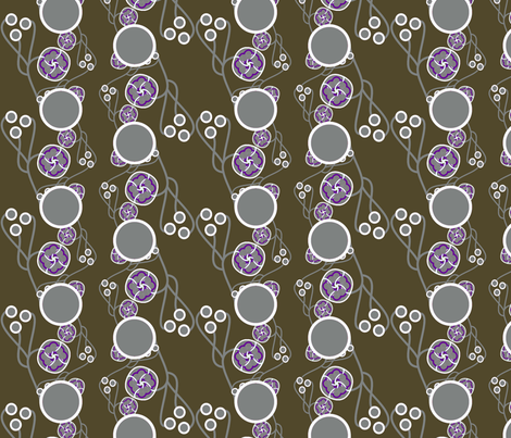 Organic Dots purple fabric by joanmclemore on Spoonflower - custom fabric