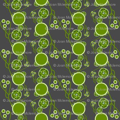Organic Dots Green