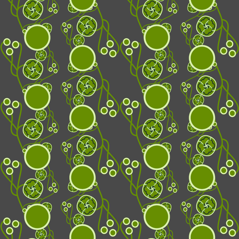 Organic Dots Green fabric by joanmclemore on Spoonflower - custom fabric