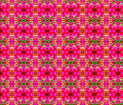 Feverishly Bougainvillea fabric by margaretdaniero on Spoonflower - custom fabric