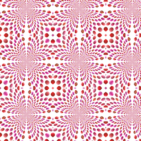 Shell Pattern Design, S fabric by animotaxis on Spoonflower - custom fabric