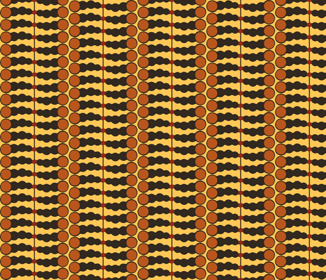 Abacus Afrique (Soleil) fabric by david_kent_collections on Spoonflower - custom fabric