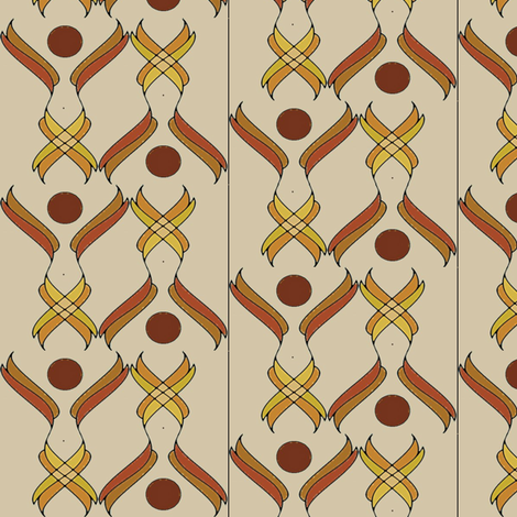 Sun Goddess fabric by david_kent_collections on Spoonflower - custom fabric