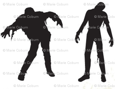 Large Silhouette of the Living Dead