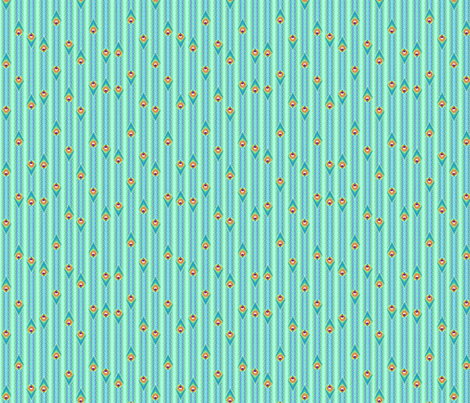 ©2011 infinitefeathers fabric by glimmericks on Spoonflower - custom fabric