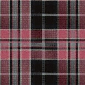 Pink, Gray and Black Plaid