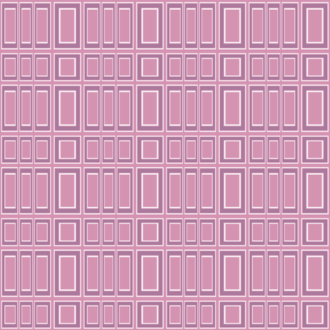 Kids Pink Geometric 2 © Gingezel™ 2012 fabric by gingezel on Spoonflower - custom fabric