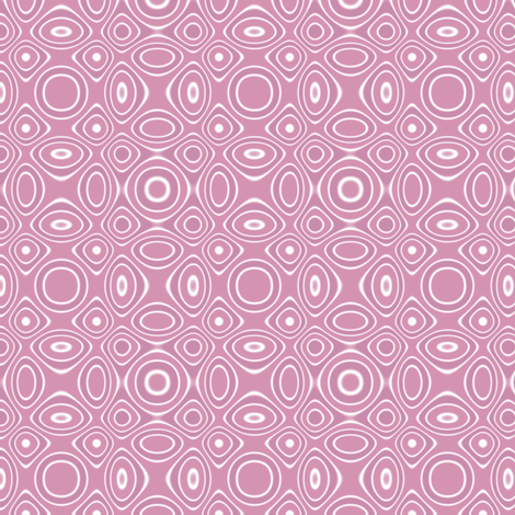 Pink Bubble Bath Abstract © Gingezel 2011 fabric by gingezel on Spoonflower - custom fabric