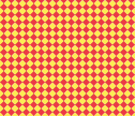 two tone circus fabric by handmadebyclairebear on Spoonflower - custom fabric
