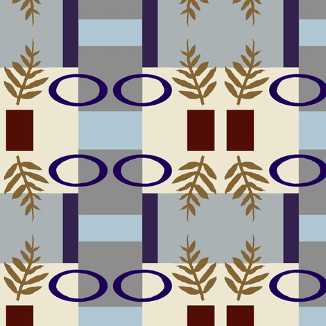 Laurel Redux fabric by boris_thumbkin on Spoonflower - custom fabric