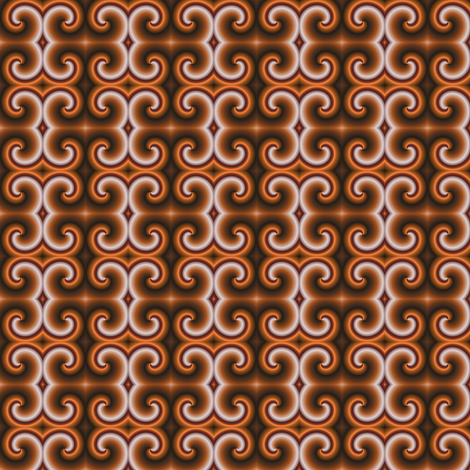 Choco Shake fabric by angelgreen on Spoonflower - custom fabric