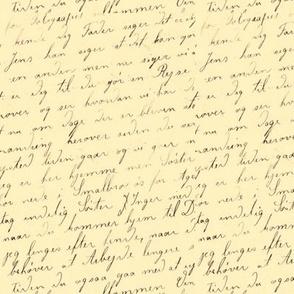 Danish Letter