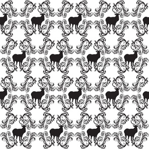 Stag Solid Pattern