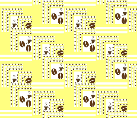 coffee fabric by raasma on Spoonflower - custom fabric