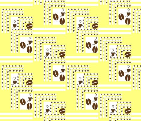 coffee fabric by raasma on Spoonflower - custom fabric