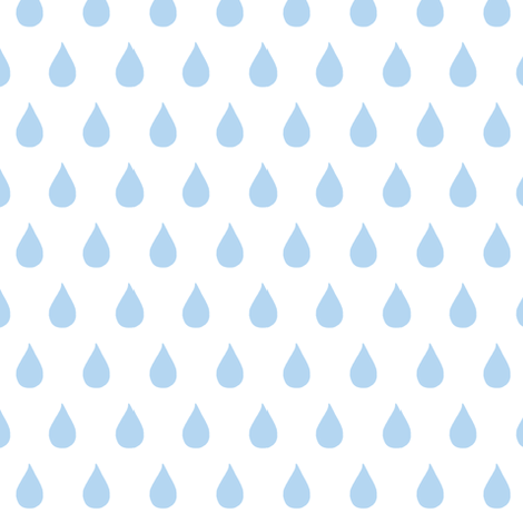 Rainy Days  (light sky blue) fabric by pattyryboltdesigns on Spoonflower - custom fabric