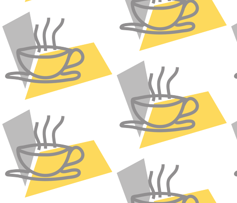 koffie fabric by rcmj on Spoonflower - custom fabric