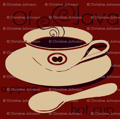 a piping hot cup of java #11