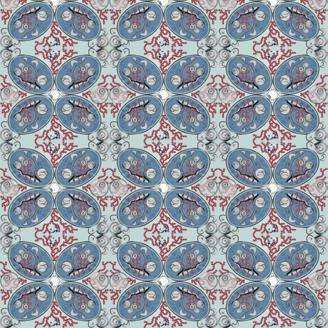 Jewels of the Sea fabric by mag-o on Spoonflower - custom fabric